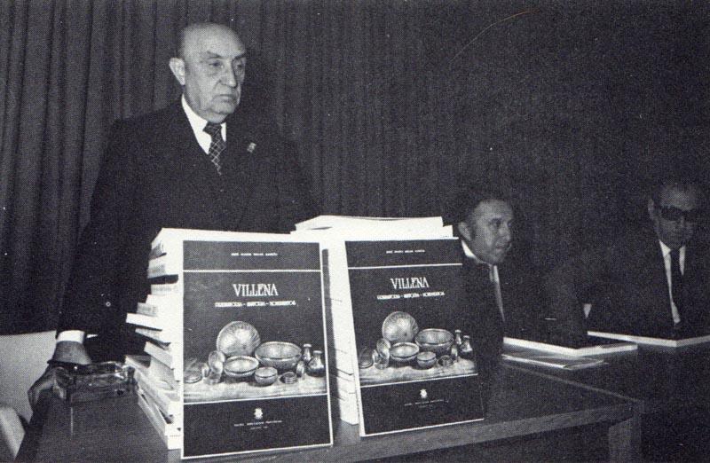 Jose María Soler presentando su libro