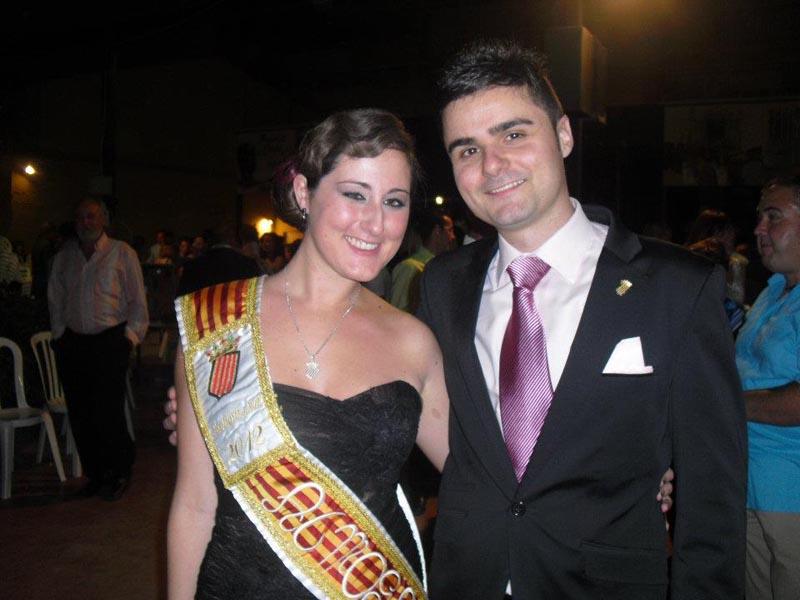 Madrina y presidente