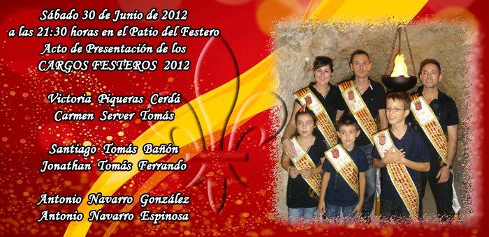 Invitación presentación almogávares 2012